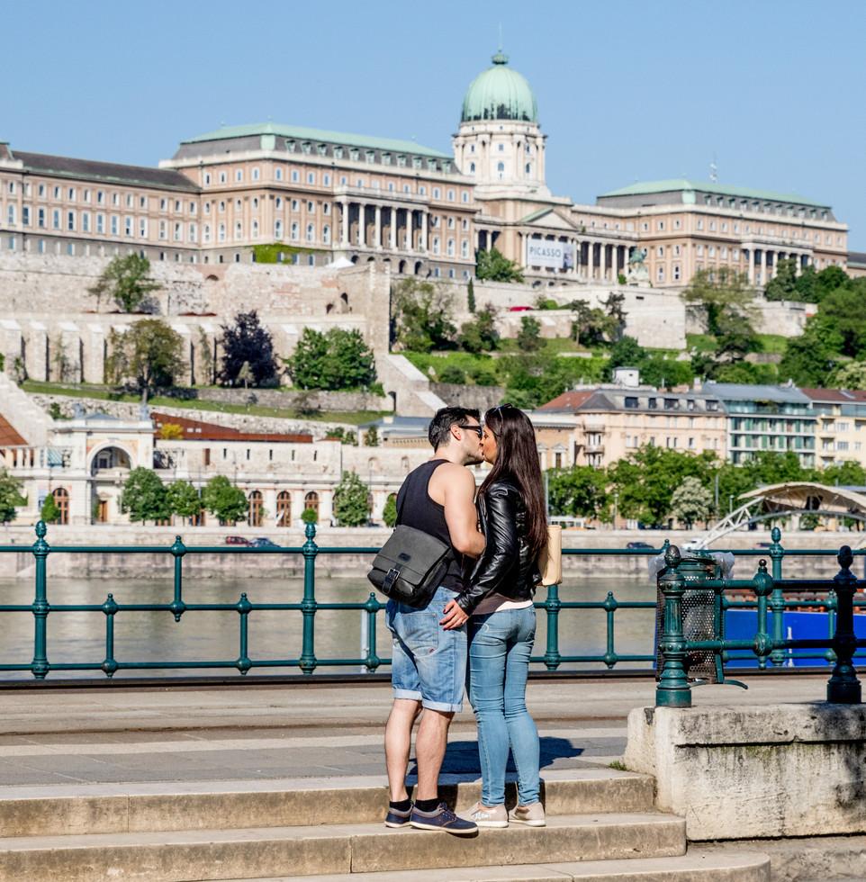 on the street, Budapest