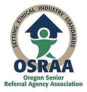 OSRAA (Oregon Senior Referral Agency Association member logo