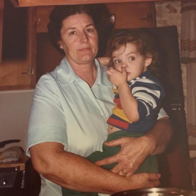 Gram was always in the kitchen