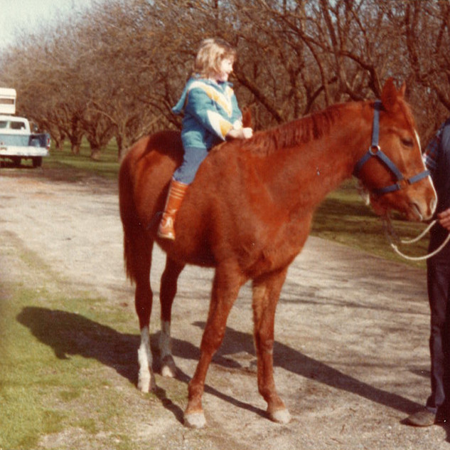 I had horses from a young age because of my grandparents... something I will teach my kids someday!