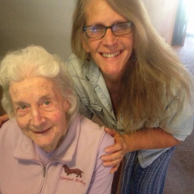 Aunt Nancy and Gram