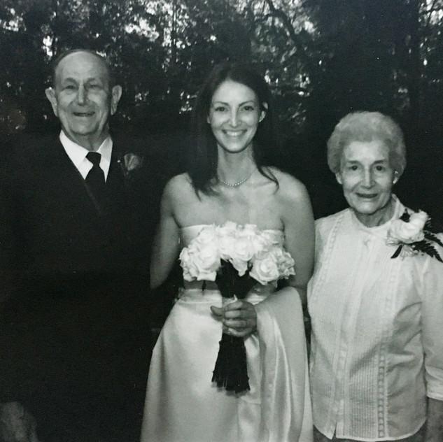 Wedding in 2003