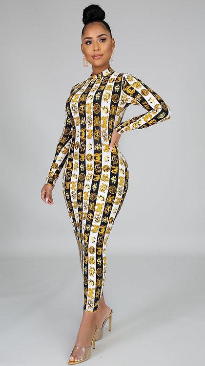 Dynasty midi dress