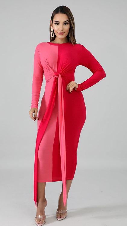 Be mine midi dress