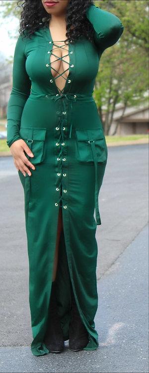 Long line maxi dress