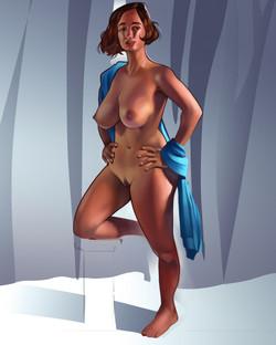 Venus of Rose figure study