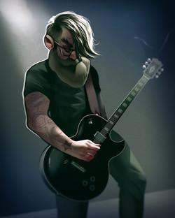 middle aged rocker