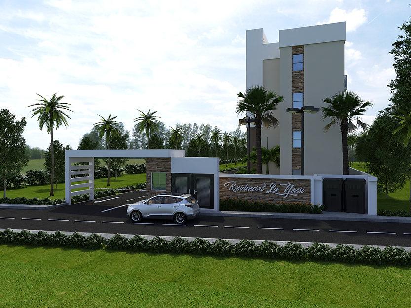 Apartment Entrance, Bonao