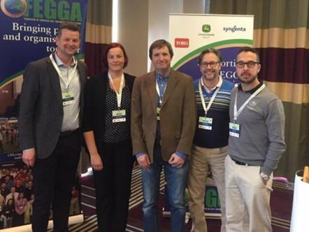 Eurooppalaiset kentänhoitoyhdistykset kokoontuivat Bulgariassa