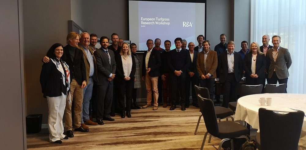 Group photo from the FEGGA/R&A Pioneering Research Workshop. Stefan Nilsson represented the Scandinavian Region.