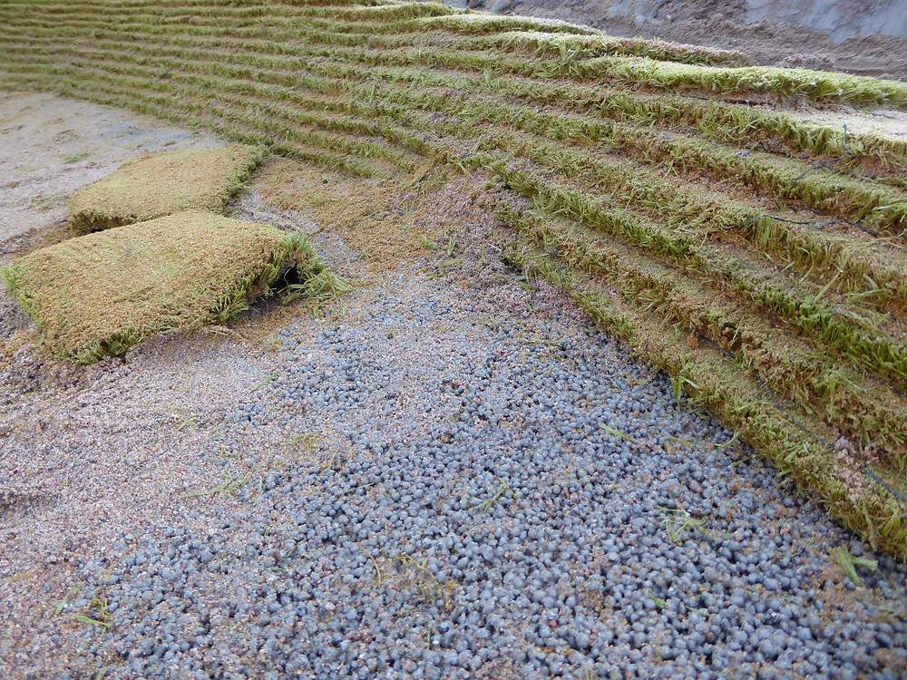 Durabunker-seinä ja Capillary Concrete -pohja. Kuva: Esa Hukkanen.
