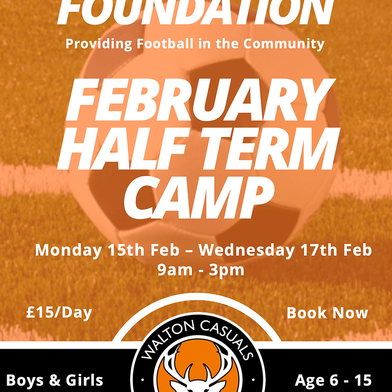 Foundation February Half Term