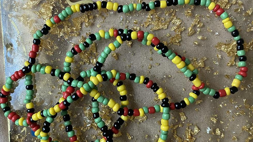 Rep your flag Waist beads