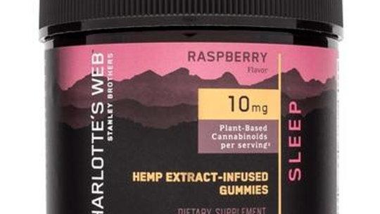 Charlottes Web - CBD Edible - Sleep Hemp Extract Gummies - 10mg