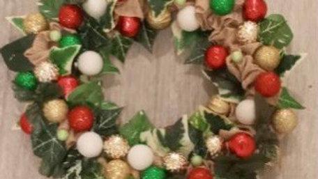 "16"" Christmas delight Wreath"