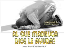 AL QUE MADRUGA