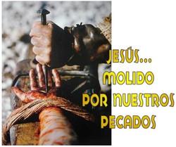 JESUS HECHO POLVO