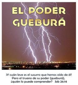 PODER GUEBURA