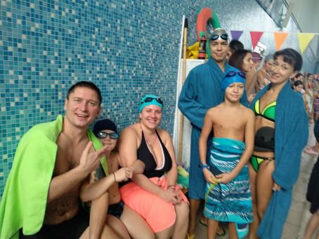 Победители округа по плаванию