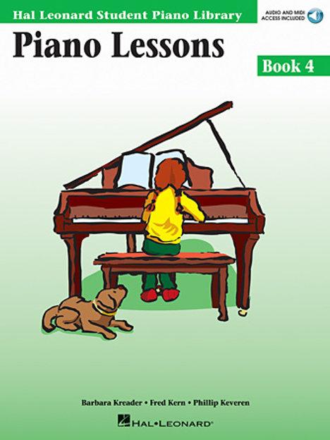 Piano Lessons Book 4