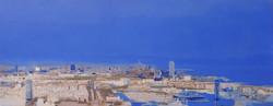 Vista de Barcelona des de Montjuïc