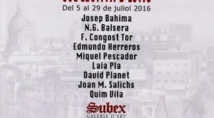COL·LECTIVA GALERIA SUBEX (BCN) JULIOL 2016