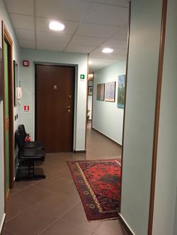 particolare del corridoio