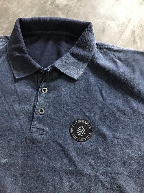 Camisa Polo Aflora - Deep Blue