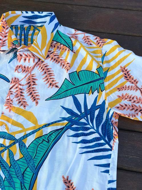 Camisa Aflora - Caribbean Days