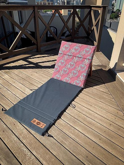 Kit 2 Cadeiras Portátil Aflora  - Palm Tree