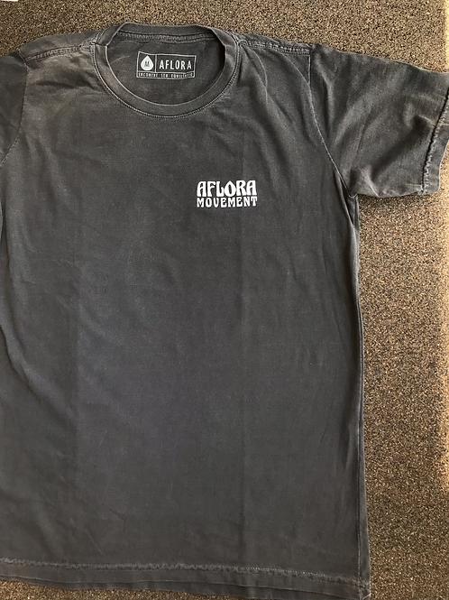 Camiseta Aflora Sacred Energy - Stoned Black