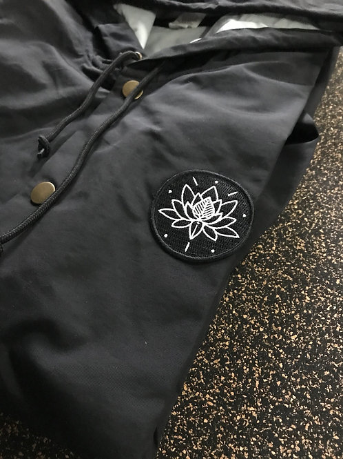Windbreaker Aflora Black - Lotus
