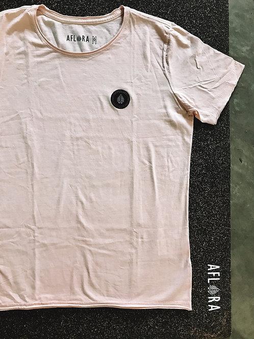 Camiseta Aflora Casual - Off Pink