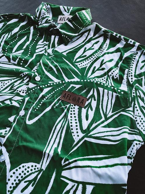 Camisa Aflora - Green Memories