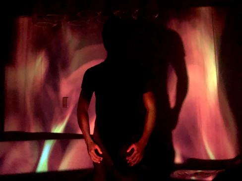 Chris in Flames