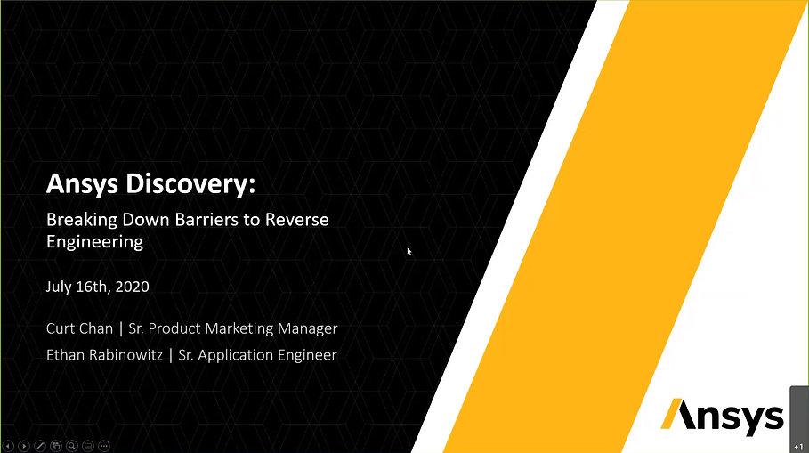 SpaceClaim In depth Webinar on Reverse Engineering