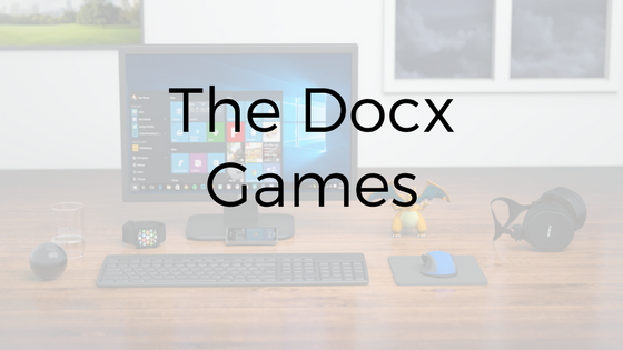 The Docx games: Microsoft Office World Championship