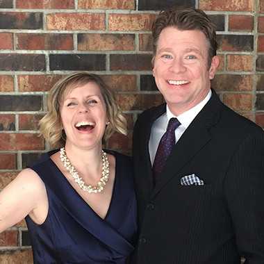 Heidi and Cory Busse