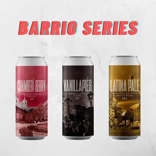 Barrio Series | 12 Latas Mezcladas