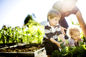 Getting your kids involved in gardening from a young age