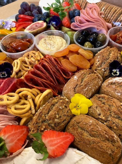 Charcuterie & cheese sharing box for 6-8  people