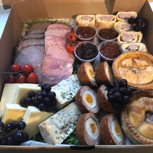 Ploughman's grazing box for 6 people