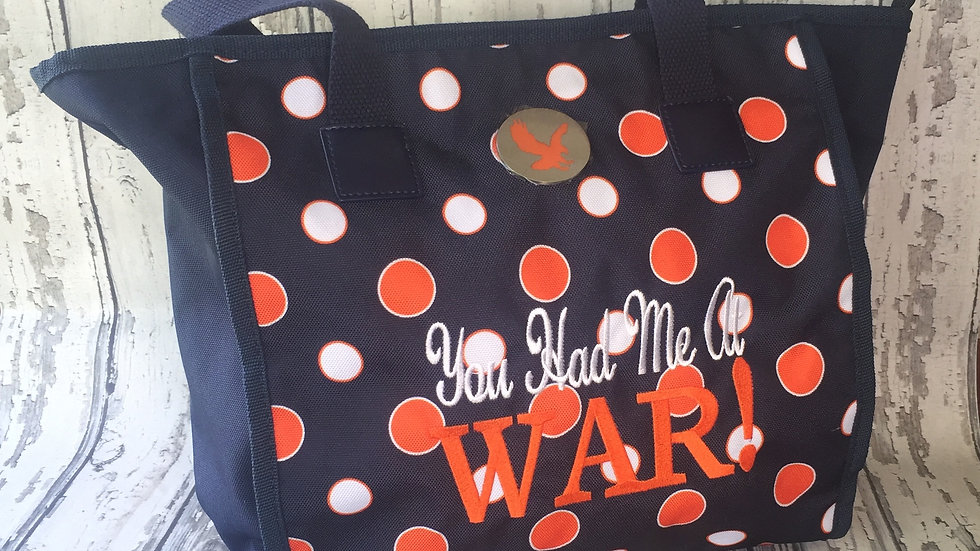 "Auburn Bag ""You Had Me At WAR"""