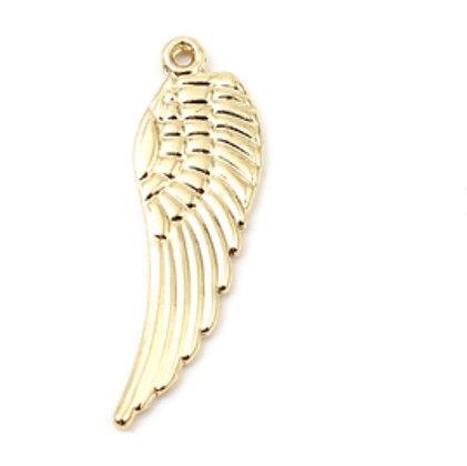 """תליון עין כנף עשוי גולדפילד 3 ס""""מ"""