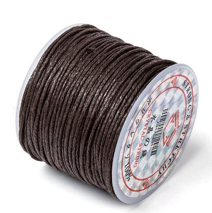 חוט שעווה 100% כותנה 25 מטר - בחר צבע