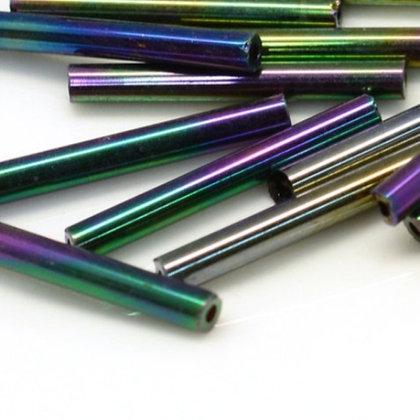 מאה חרוזי מקלות זכוכית - בחר צבע