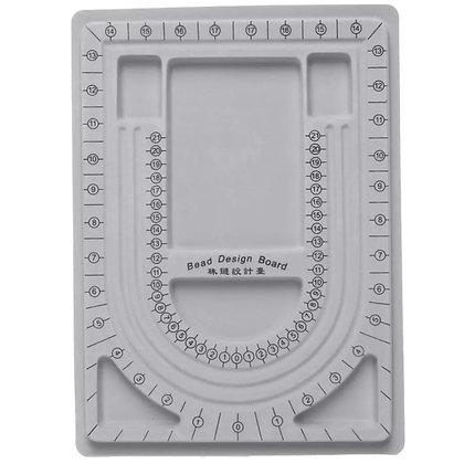 לוח חרוזים לארגון ועיצוב תכשיטים נוח - בחר צבע