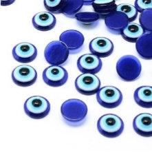 """מאה קישוטי עיניים בלי נצנצים להדבקה על כפכפים 1ס""""מ"""