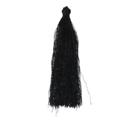 פונפון שחור גדול