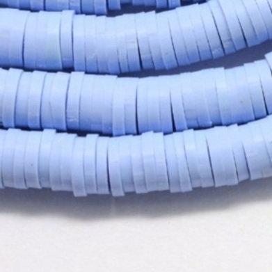 """חרוזי סיליקון בצבע תכלת סגול לילך 8 מ""""מ"""